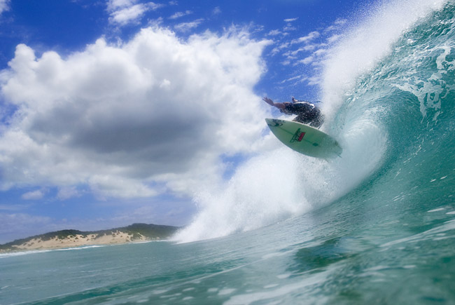 action surfing photography