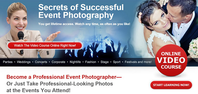 Event Photography Training Course
