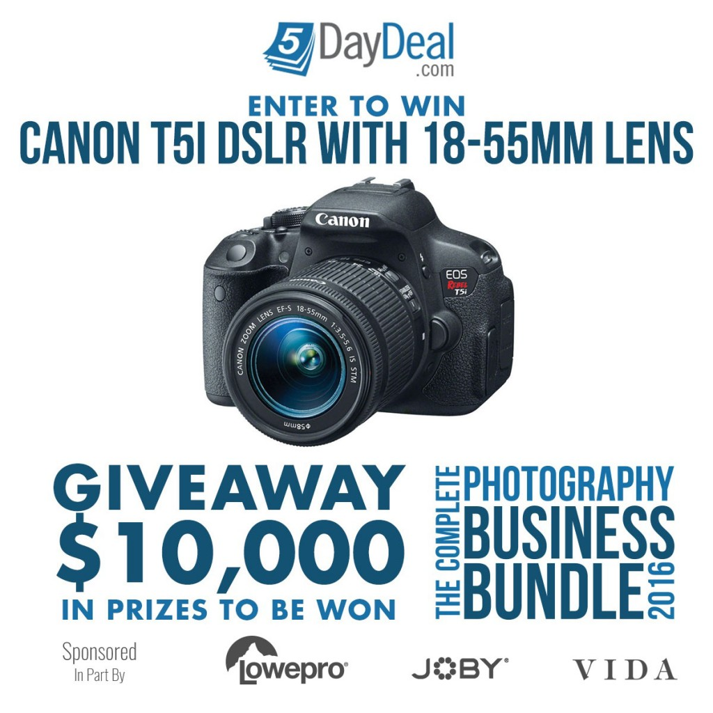 GIVEAWAY-Canon-T5i-DSLR