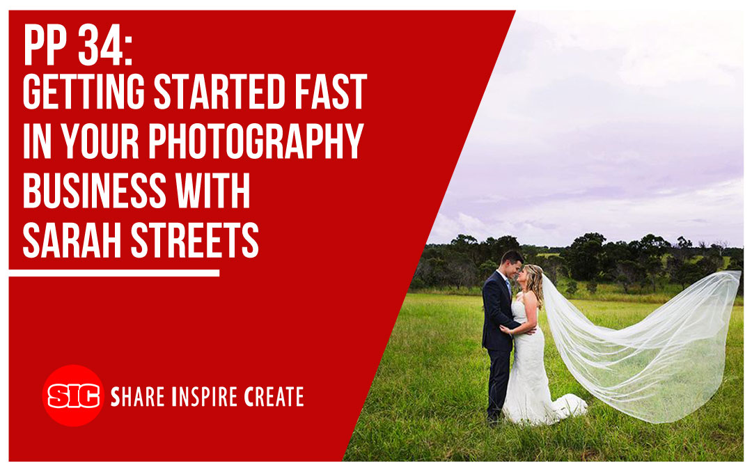 PP 34 – Getting Started Fast in Your Photography Business with Sarah Streets