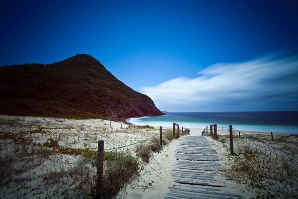 zenith beach landscape photography port stephens
