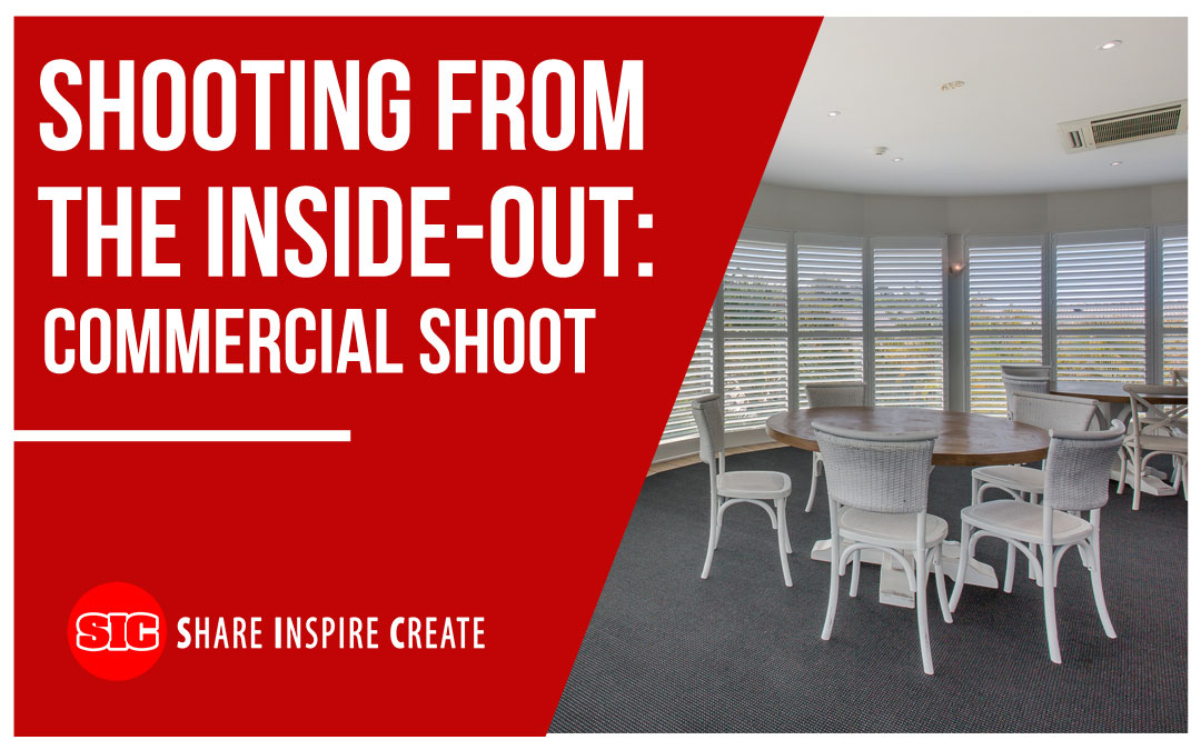 Shooting From the Inside-Out: Commercial Shoot