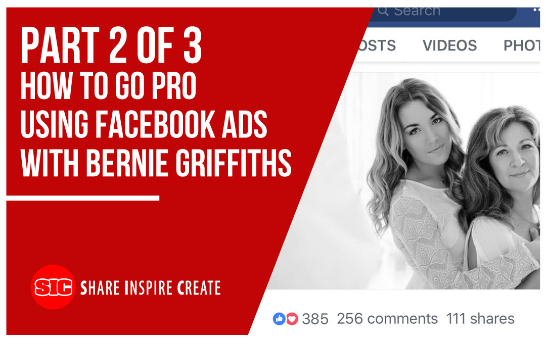 PP47 – (Part 2 of 3) How To Go Pro Using Facebook Ads with Bernie Griffiths