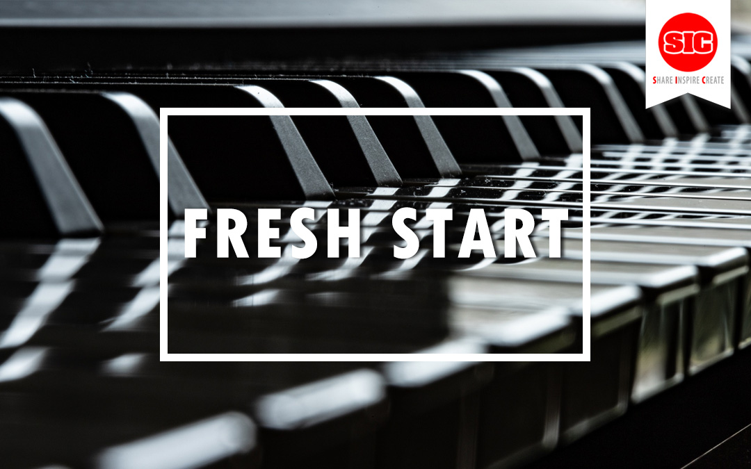 Start Fresh And Create A New Beginning