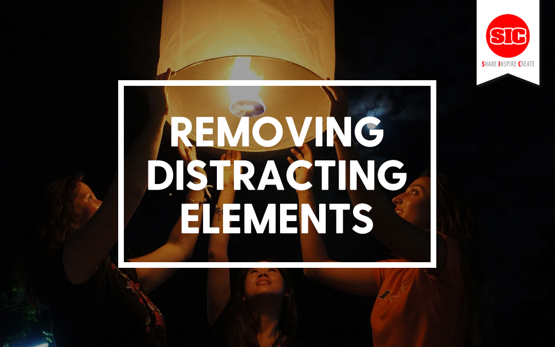 Telling A Story Through Your Image by Removing Distractions