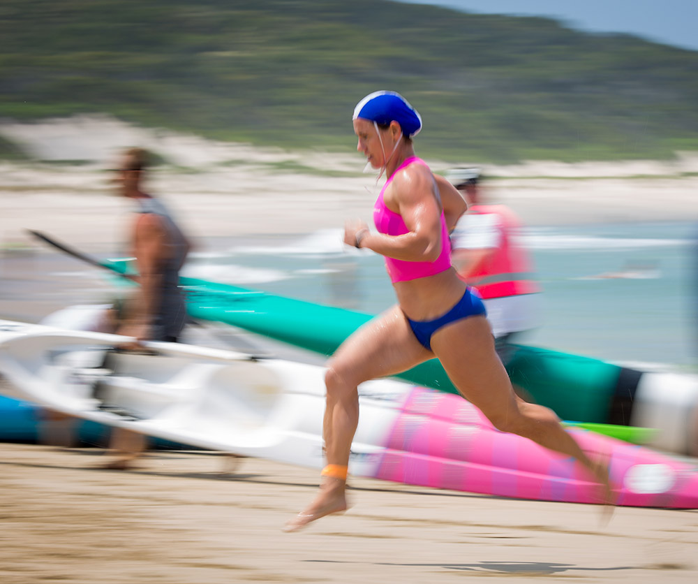 Using panning and slower shutter speed to show motion
